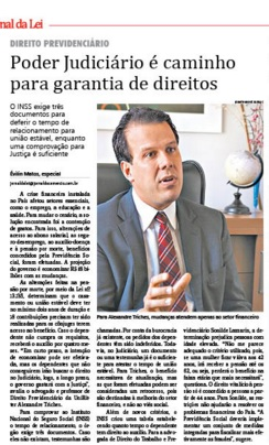 Matéria Jornal da Lei - 10-11-2015